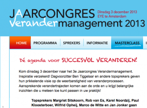 Jaarcongres ∆-mgt 2013